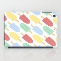 popsicle iPad Cases featuring Popsicle by Laura Barclay