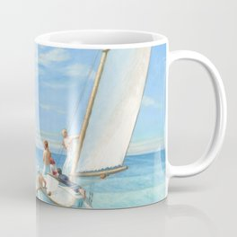 Ground Swell OIl Painting by Edward Hopper Coffee Mug