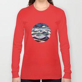 Moonlit Ocean Long Sleeve T-shirt