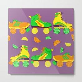 Fruit Roll Metal Print
