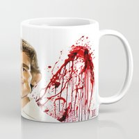 dexter Mugs featuring Dexter by Giampaolo Casarini