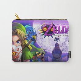 The Legend Of Zelda- Majora Mask Carry-All Pouch