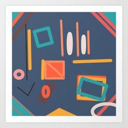 Game number 1 Art Print