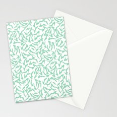 Shoes Mint on White Stationery Cards