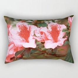 Azaleas blooming Rectangular Pillow