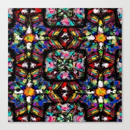 Ecuadorian Stained Glass 0760 Canvas Print