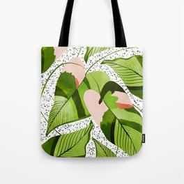 Blushing Leaves #illustration #painting Tote Bag