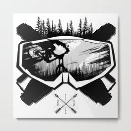MTB Ride Metal Print