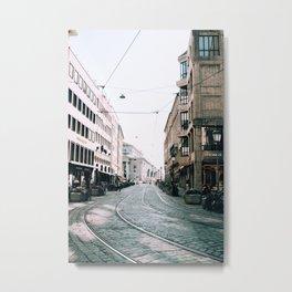 Derailed | Munich, Germany Metal Print