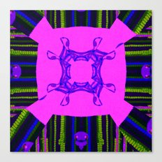 Internal Kaleidoscopic Daze-14 Canvas Print