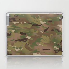 Military Woodland Camouflage Pattern Laptop & iPad Skin