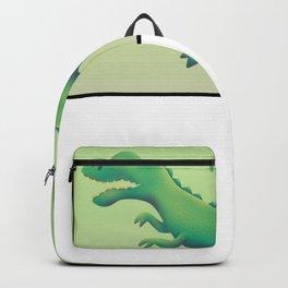 Dinosaur T-Rex Lizard King animal prehistoric Gift Backpack