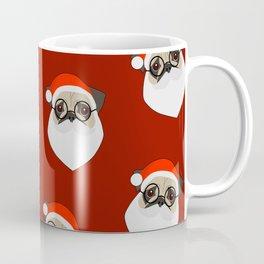 Santa Pugs Coffee Mug
