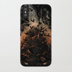 Arising after a fall iPhone X Slim Case