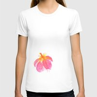 hibiscus T-shirts featuring Hibiscus by Grace Breyley