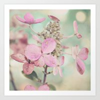 blush Art Prints featuring Blush  by Laura Ruth