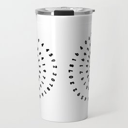 Pi Day Love Math Funny Travel Mug