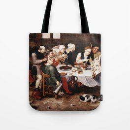 Hieronymus Bosch - The Bacchus Singers Tote Bag