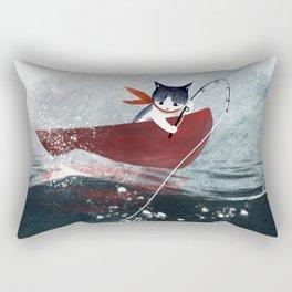 Catfish & Purrmaids Rectangular Pillow