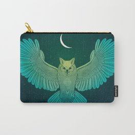 Cosmic Owl Spirit Guide Carry-All Pouch