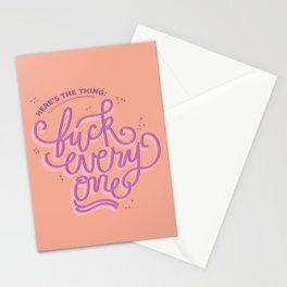 Here's the thing (MFM) Stationery Cards