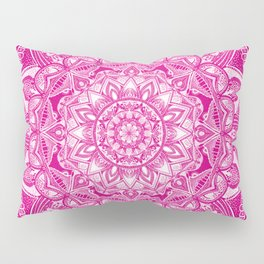 Pink Madala Pattern Pillow Sham