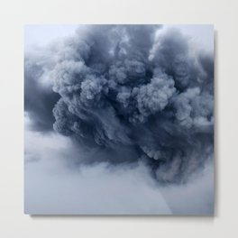 Ash Cloud Metal Print