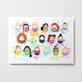 Ladies & Princesses Metal Print