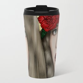 The eyes are the mirror of the soul Travel Mug