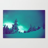 Canvas Prints featuring Lay Me Down by Gallery One