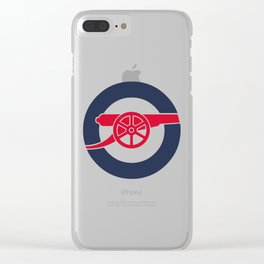 the gunner Clear iPhone Case