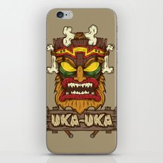 Uka-Uka (Crash Bandicoot) iPhone & iPod Skin