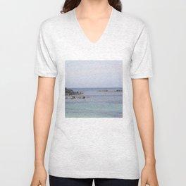 Beach Lewis and Harris 4 Unisex V-Neck