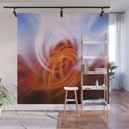 Heaven And Hell Light Fibers Wall Mural