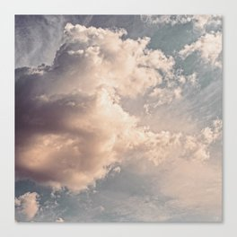 The Clouds #2 Canvas Print