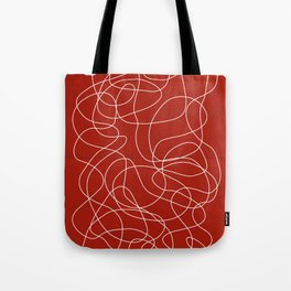 Headphone Maze Tote Bag