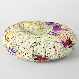 Paints Floor Pillow