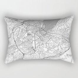 Geneva Map Line Rectangular Pillow