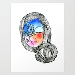 My colors Art Print