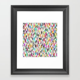 connections 7 Framed Art Print