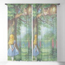 Cheshire Cat Sheer Curtain