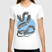 snake T-shirts featuring Snake by DIVIDUS