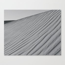 Ripples of Sand Canvas Print