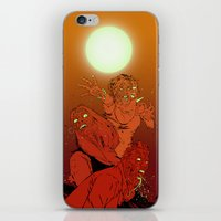 zombies iPhone & iPod Skins featuring ZOMBIES by Marcus Wild