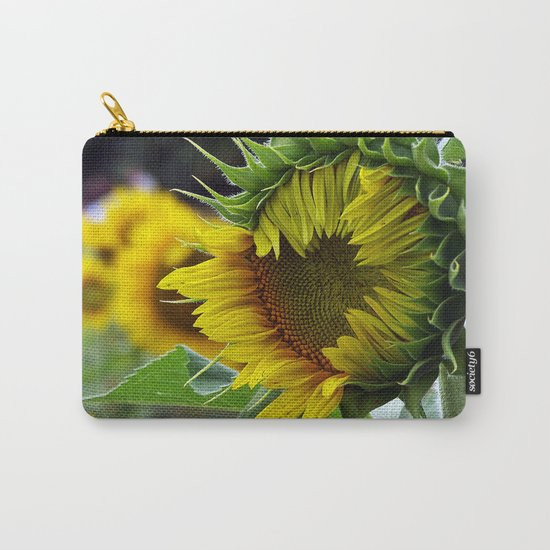 Sunflower Unfolds Carry-All Pouch