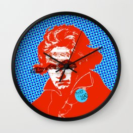 Ludwig van Beethoven 11 · Punks not dead Wall Clock