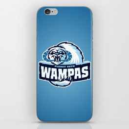 Planet Hoth Wampas - Blue iPhone Skin
