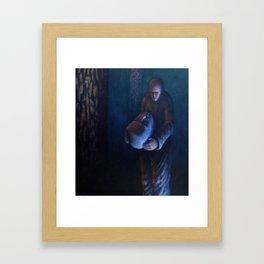 The Heavy Haed Framed Art Print