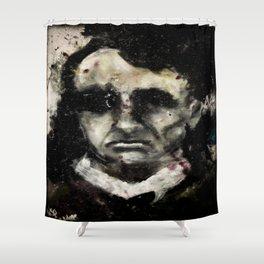Charles Baudelaire portrait gothique vintage victorien Shower Curtain
