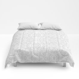 White Lace Comforters